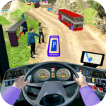 Modern Bus Drive 3D Parking new Games-FFG Bus Game MOD Unlimited Money 2.42