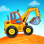 Truck games for kids – build a house car wash MOD Unlimited Money 1.0.16