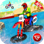 Beach Water Surfer Dirt Bike Xtreme Racing Games MOD Unlimited Money 1.0.3