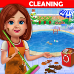 Big Home Cleanup and Wash House Cleaning Game MOD Unlimited Money 2.0.7