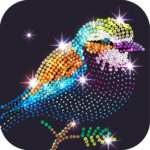 Diamond Coloring – Sequins Art Paint by Numbers MOD Unlimited Money 1.2.6