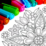 Mandala Coloring Pages MOD Unlimited Money 14.1.0