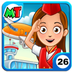My Town Airport MOD Unlimited Money