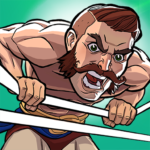 The Muscle Hustle Slingshot Wrestling Game MOD Unlimited Money 1.26.530