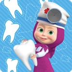 Masha and the Bear Free Dentist Games for Kids MOD Unlimited Money 1.1.1