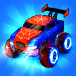 Merge Truck Monster Truck Evolution Merger game MOD Unlimited Money 1.0.95