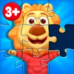 Puzzle Kids – Animals Shapes and Jigsaw Puzzles MOD Unlimited Money 1.3.5