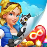 Park Town Match 3 Game with a story MOD Unlimited Money 1.31.3598