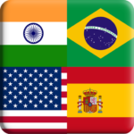 Flags Quiz Gallery Quiz flags name and color MOD Unlimited Money Flag 1.0.176