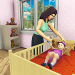 Real Mother Simulator 3D – Baby Care Games 2020 MOD Unlimited Money 1.0.1
