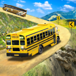 Offroad School Bus Driving Flying Bus Games 2020 MOD Unlimited Money 1.36