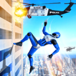 Grand Police Robot Speed Hero City Cop Robot Games 20 APK MOD
