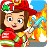 My Town Fire station Rescue Free 1.02 PremiumMOD Cracked