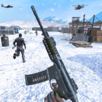 Action shooting games Commando Games 4.24 APK MOD