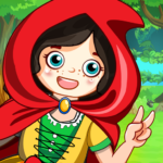 Mini Town Red Riding Hood Fairy Tale Kids Games 1.4 APK MOD