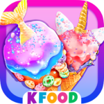 Unicorn Chef Mermaid Cooking Games for Girls 2.2 APK MOD