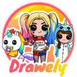 Drawely – How To Draw Cute Girls and Coloring Book 100.7.6 APK MOD