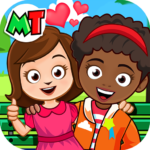 My Town Best Friends House games for kids 1.04 APK MOD