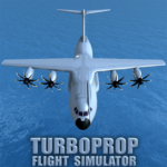 Turboprop Flight Simulator 3D 1.24 APK MOD