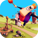 Catapult Shooter 3D Revenge of the Angry King 1.0.19 APK MOD