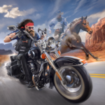 Outlaw Riders War of Bikers 0.2.1 APK MOD
