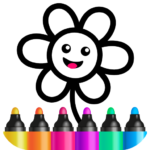 Toddler Drawing Academy Coloring Games for Kids APK MOD