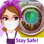 Messy House Cleanup Girls Home Cleaning Activities 7.0.5 APK MOD