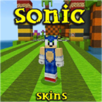 Skins Sonic for MCPE MOD Unlimited Money