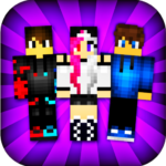 PvP Skins for Minecraft PE MOD Unlimited Money
