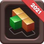 Wood Block Puzzle Reversed Tetris and Block Game MOD Unlimited Money