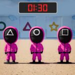 Pink Squad – Run Stop Game – Red Green Light MOD Unlimited Money